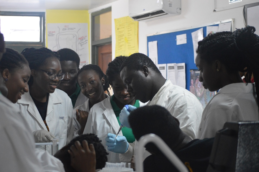 Tema International School - DNA extraction experiment