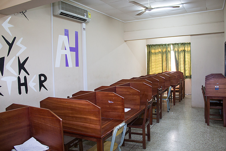 Boys Hostel Reading Room