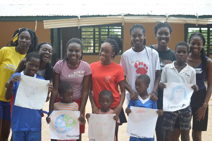 Tema International School - CAS Trip to Akorlikope Aug 2017